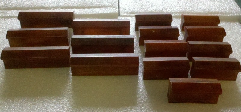 Lot Of 15 Butterscotch Bakelite Cabinet Drawer Pulls