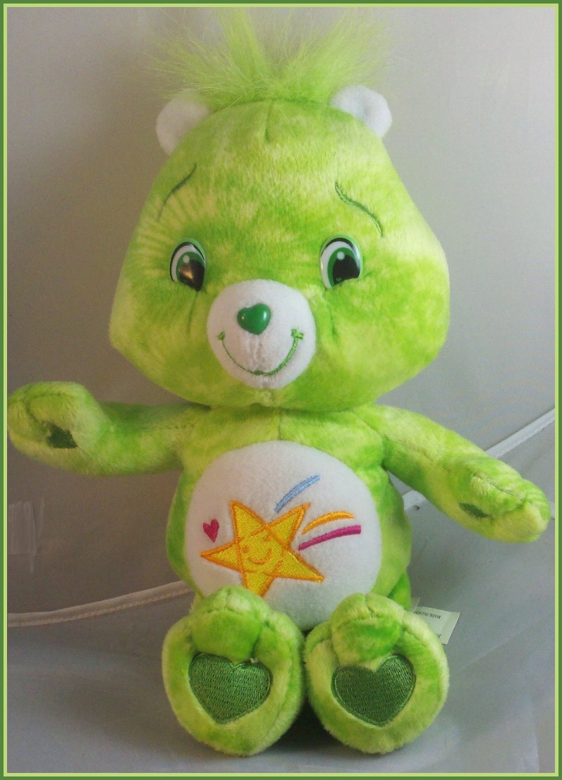 Care Bear Plush Oopsy 10 Quot Mottled Green Plush Shooting