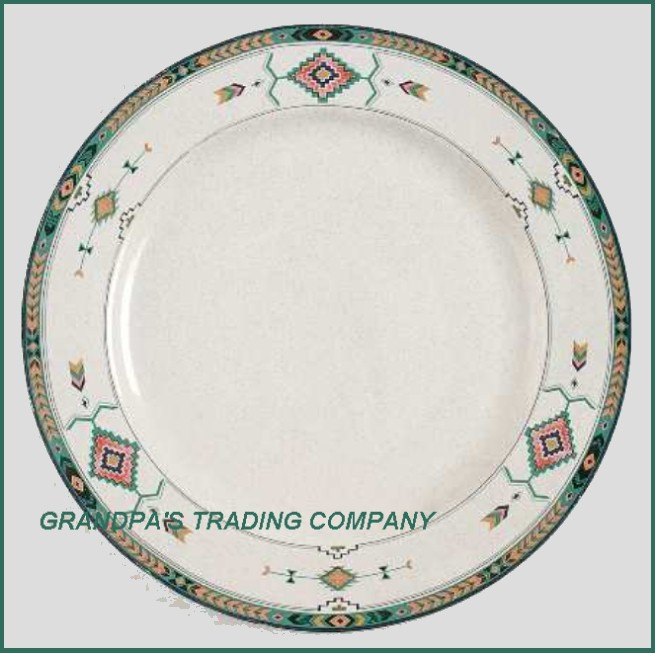 details about adirondack by studio nova mikasa 11 dinner plate aztec