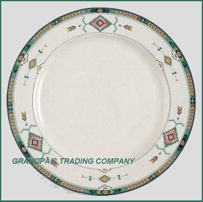 details about adirondack by studio nova mikasa 11 dinner plate aztec