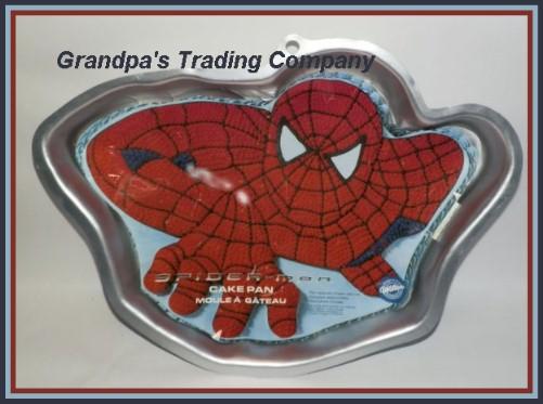 Wilton Spiderman Cake Pan Jello Mold 2105 5050 W Insert